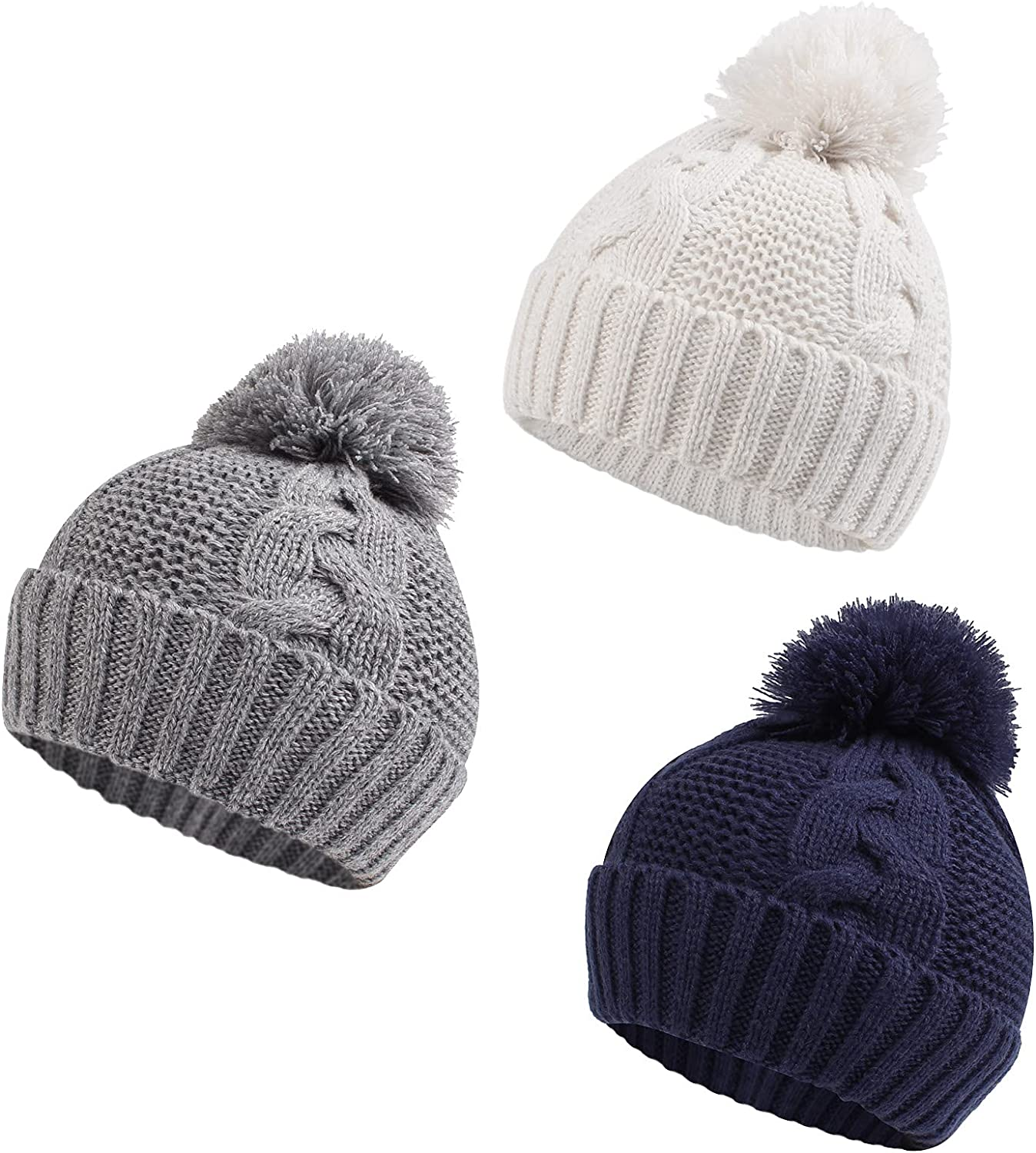 Zsedrut Baby Girls Winter lowest price Hat Tucson Mall Infant Beanie Twist W Weather Cold