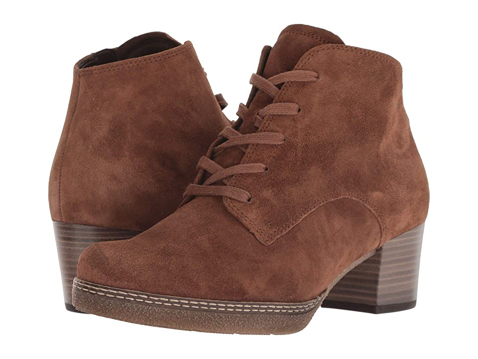 Gabor Gabor 96.660 (Brown) Women's Lace-up Boots