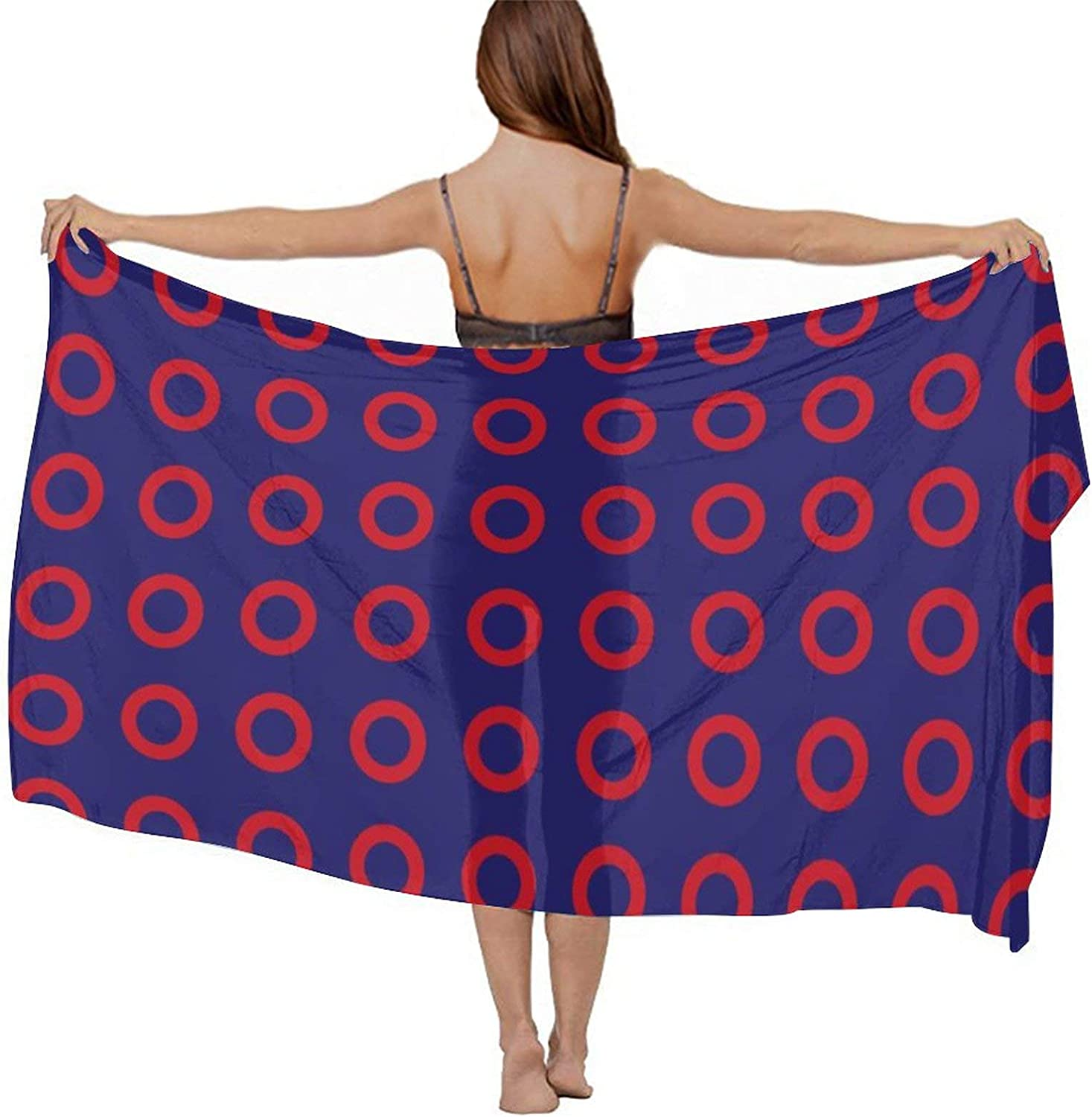 Beach Cover Up Warp Scarf Swimsuit Sarongs Sunscreen Pareos for Beach Wedding, Holiday