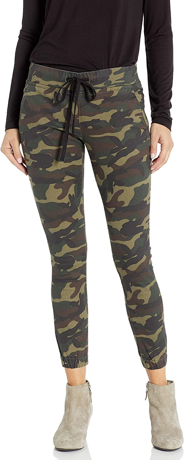 Cover Girl Women's Jeans joggers Camo Print button or Drawstring