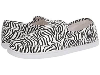 Sanuk Pair O Dice Prints (Zebra) Women