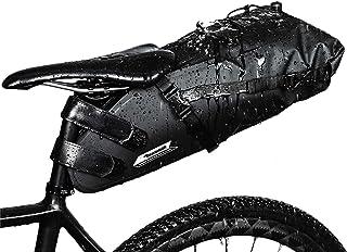 comprar comparacion Selighting Impermeable Bicicleta Alforja Asiento Trasero Carrier Bolsas de Sillín Alforjas de Ciclismo (Negro-Nuevo, 10L)