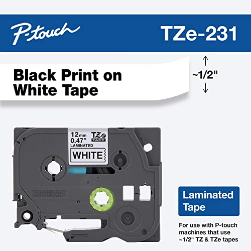 REFRESH CARTRIDGES  TZE-111  COMPATIBLE WITH BROTHER PRINTERS