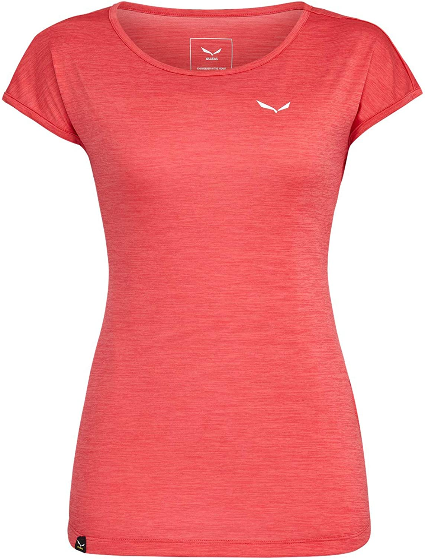 SALEWA Puez Melange Dry W S//S tee Camiseta Mujer