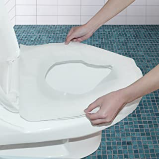 WANPOOL Funda Portable y Desechable para Asiento de Inodoro en Papel Impermeable - 250 Pezzi