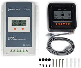 ACOPOWER 30A MPPT Solar Charge Controller 100V input HY-MPPT Series HY-MPPT30+ MT-50 Solar Charge LCD Display