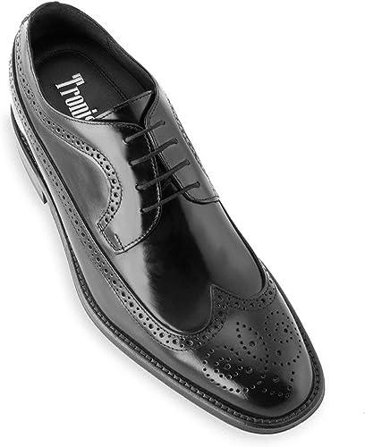 zapatos de Hombre con Alzas Que Aumentan Altura hasta 7 cm. Fabricados en Piel. Modelo London