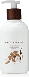 Thymes - Vanilla Blanc Hand Lotion with Pump - With Moisturizing Shea Butter and Vitamin E - 8.25 oz