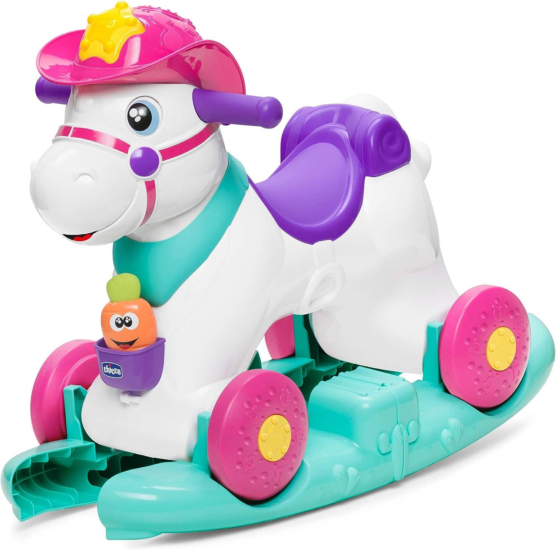 Chicco- Baby Rodeo Correpasillos, Multicolor (00007907100000)