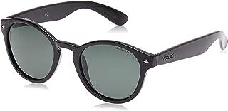 Polaroid Men's Sunglasses, Shiny Black/Green Pz, 50 (PLD 1018/S H8 D28 D28)