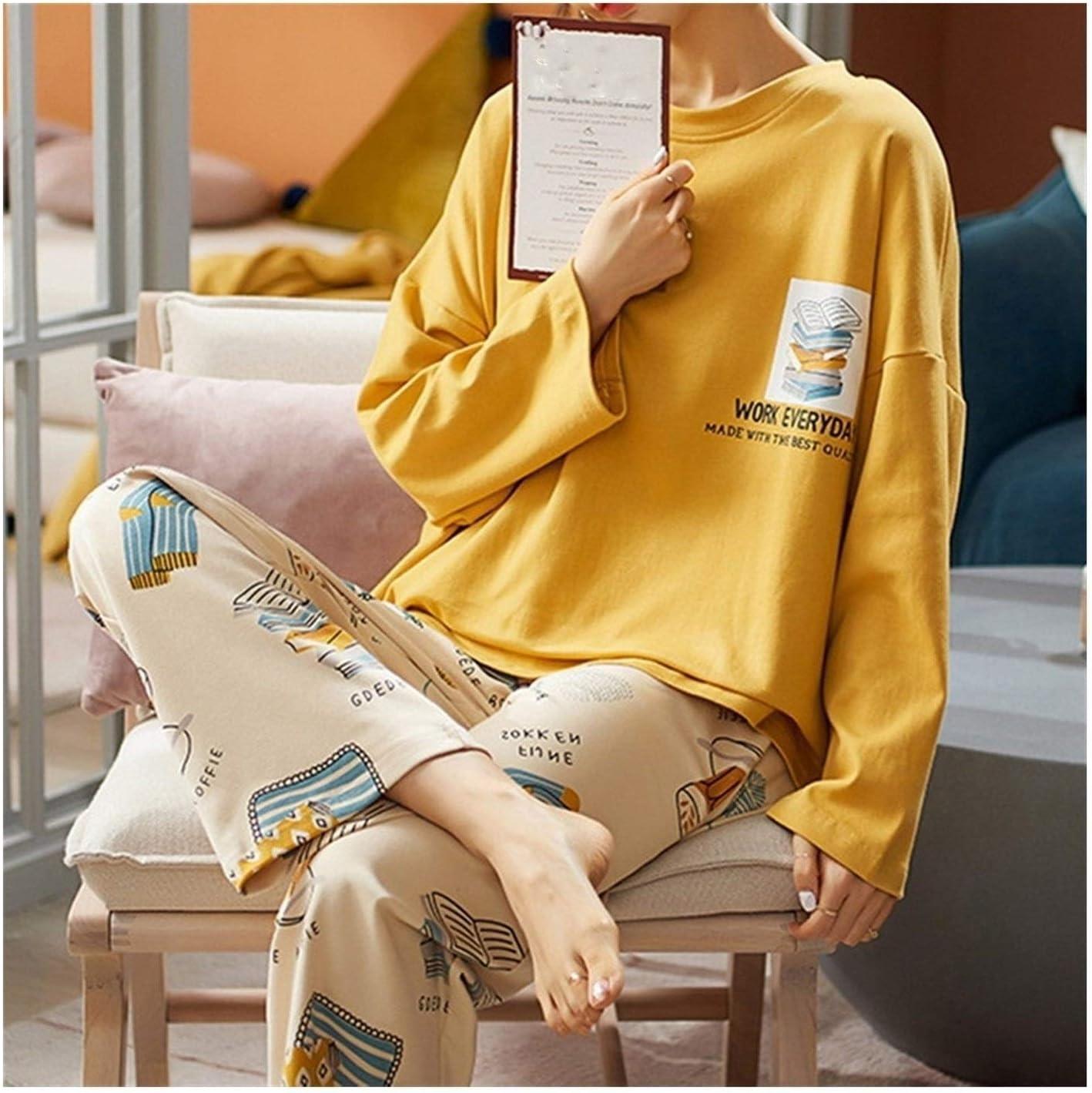 Adies pajamas matching pajama set 100% quality warranty for Mail order Pa women New Cotton Summer