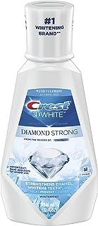 دهان شویه سفید نعناع سفید Crest 3D