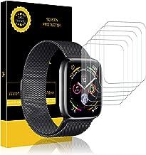 LK Protector de Pantalla para Apple Watch 42mm / 44mm, [6 Piezas] HD Film Flexible Transparente para Apple Watch Series 1,Series 2,Series 3,Series 4,Series 5 [garantía de reemplazo de por Vida]