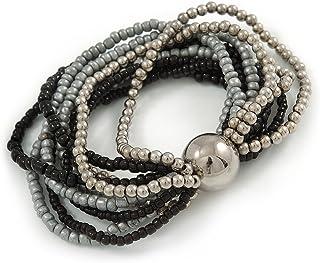 95a373ead Amazon.fr : Boule Noire - Bracelets / Femme : Bijoux