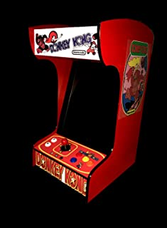 Retro Arcade Machine with 412 Games -Tabletop/Bartop - All The Classics - Perfect for Man Caves, Bars and Game Rooms! (Red)