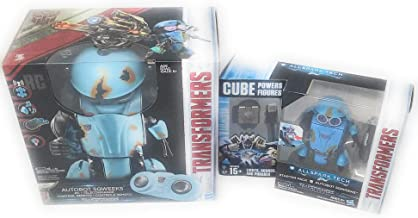 Kids Boys Fun Toys Play The Last Knight Autobot Sqweeks and All Spark Tech Starter Pack Bundle Set