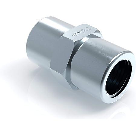 100x Verschraubung M10 X 1 Für Bremsleitung 4 75 Mm Bördel F Typ A Profi Verbinder Din Iso 1651 Konform Auto