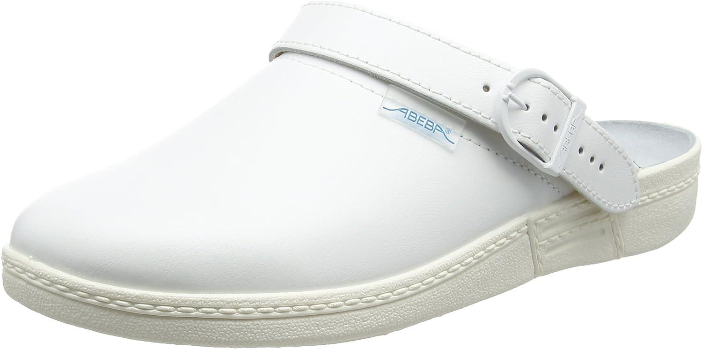 Abeba 7021-46 Size 46 The Original Occupational-Clog shoes - White