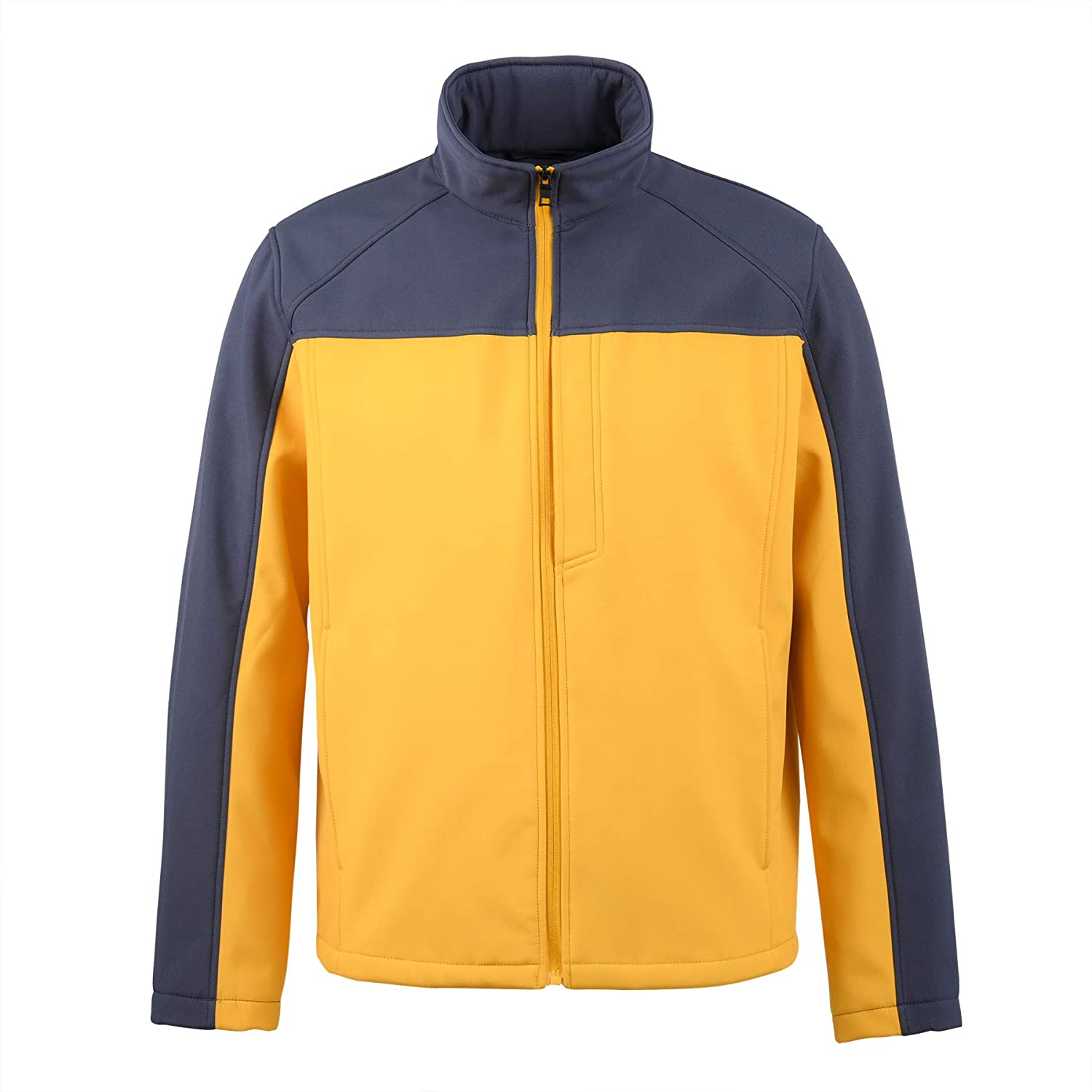 XPOSURZONE Men's Water sold Attention brand out Resistance Softshell Colorblock 3-Layer J