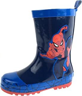 Marvel Boys Spiderman Rubber Wellington Boots