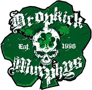 DROPKICK MURPHYS SHAM SKULL, Officially Licensed Original Artwork, Premium Quality, 4' x 4.25'   Sticker Aufkleber DECAL