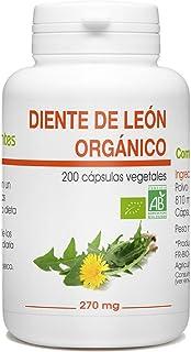 Diente de León Orgánico - 270mg - 200 cápsulas vegetales