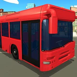 Virtual Blocky Bus Passenger Transport Simulator 3D