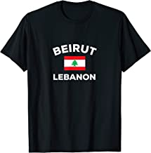 Beirut Lebanon Flag Country Tourist Souvenir Lebanese Gift T-Shirt