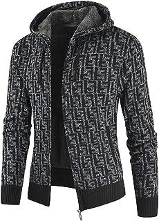 Men's Pullover Winter Workout Fleece Hoodie Jackets Full Zip Warm Thick Coats Outdoor Sports Work Jacket Fleece Lined Comf...