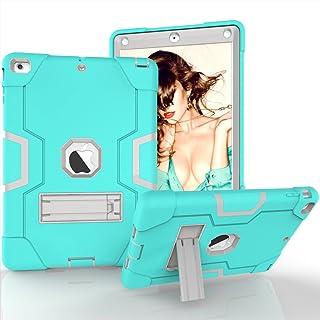 Yoomer Funda para iPad Air, de Silicona de Tres Capas y policarbonato Duro, Resistente a los Golpes, con función Atril incorporada para iPad Air (iPad 5) de 9,7 Pulgadas, Modelo 2013