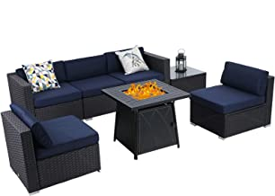 Amazon Com Patio Furniture With Fire Pit