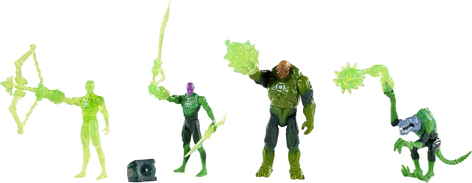 Green Lantern The Power of Will Figure 4Pack