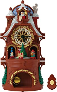 Best hallmark santa's musical christmas clock Reviews