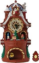 Hallmark Santa's Musical Christmas Clock with Motion and Light