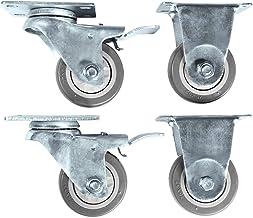 "Rockville 3"" Locking+Swivel Steel Caster Wheels For JBL JRX218S Subwoofer"