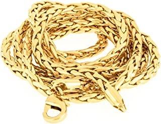 Avn Jewellers 22Ct Pure Gold and Rhodium Coated Chain AVN81