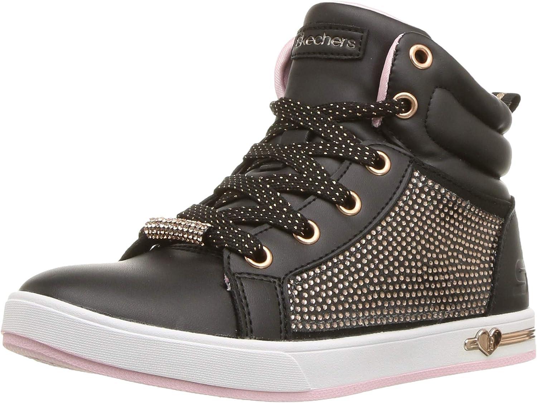 Skechers Kids' Shoutouts-Sparkle & Style Sneaker