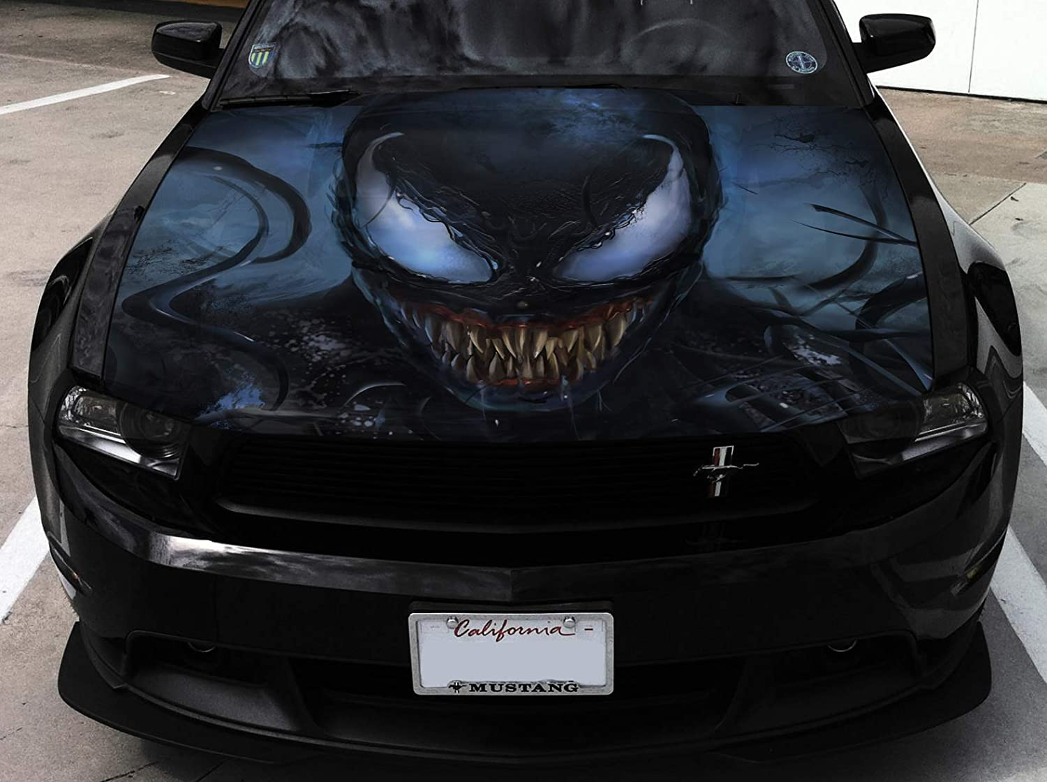 Limited price Stikka Popular shop is the lowest price challenge Vinyl Car Hood Wrap Full Grin Graphics Color Decal Venom