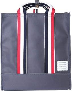 Thom Browne Men's MAG170U05322025 Grey Leather Handbag