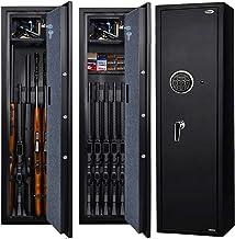 Langger Gun Safe for Rifle, Upgraded Quick Access 5-Gun Large Rifle Gun Security Cabinet for Rifle Shotgun Firearms w/o Op...