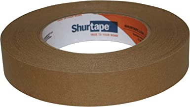 Shurtape FP-115 Hoogwaardige kwaliteit Kraft verpakkingstape: 1 in x 60 yds. (Kracht)