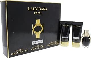 Lady Gaga Fame 3 Piece Gift Set (Eau de Parfum Spray, Body Lotion, Shower Gel)