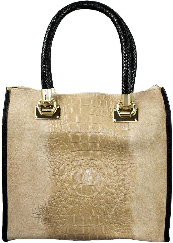 COSIMA LEONE  Leather Bag, Model ZAIRA