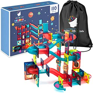 Magnetic Tiles Marble Run Toy Set | The Ultimate STEM Toy for Cognitive Development - Over 10,000 Building Combinations | ...