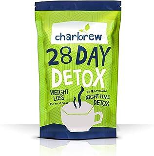 Té Detox Nocturno de Charbrew Té Para Bajar de Peso para