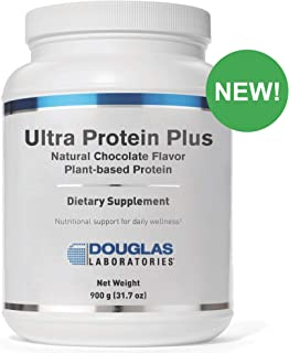 Douglas Laboratories - Ultra Protein Plus - Natural Chocolate Flavor - Plant-Based Protein Supplement - 900 Grams (31.7 oz)