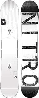 Nitro Snowboards T1 BRD'19 Premium Twin Camber Rocker Freestyle - Tabla de Snowboard para Hombre