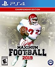 Doug Flutie's Maximum Football 2019 (PS4) - PlayStation 4