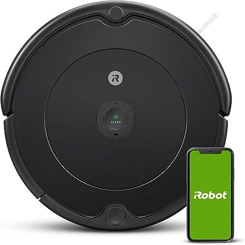 iRobot - Robot aspirador Roomba 692 Wifi, para alfombras y suelos, Dirt Detect, Sistema de limpieza en 3 fases, Smart...