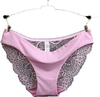 0fb58de84 MVNTOO Satisfy U Underwear Seamless Low-Rise Women s Lace Lady Panties  Seamless Cotton Breathable Hollow